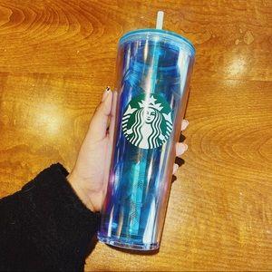 Starbucks | NWT Translucent Mermaid Scale Tumbler